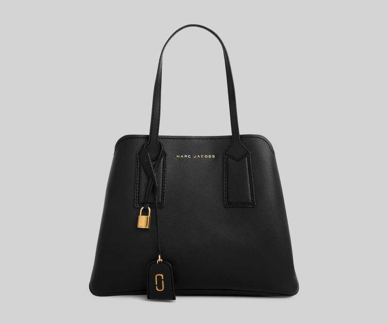 MARC JACOBS The Editor Shoulder Bag in Black